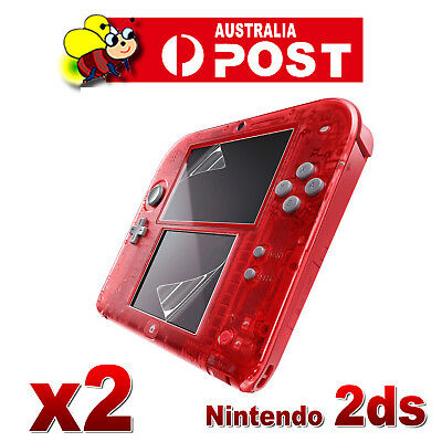 2x High Quality HD Clear LCD Screen Protector Cover Film Guard for Nintendo 2DS