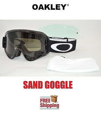 oakley motorcycle sunglasses 5gvg  Oakley庐 O-frame庐 Goggles Sand Mx Atv Motocross Motorcycle Tinted Gloss  Black New