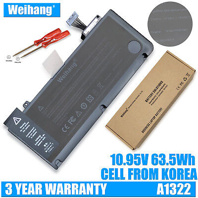 "Genuine Weihang A1322 Battery for Apple Macbook Pro 13"" Unibody A1278 MB991LLA"