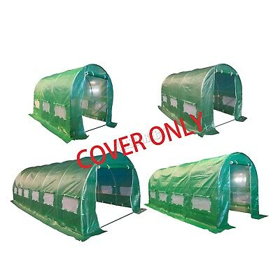 FoxHunter Replacement Polytunnel Greenhouse Pollytunnel Poly Tunnel Cover Only