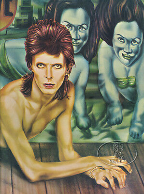 DAVID BOWIE 1974 DIAMOND DOGS Tour Concert Program Programme