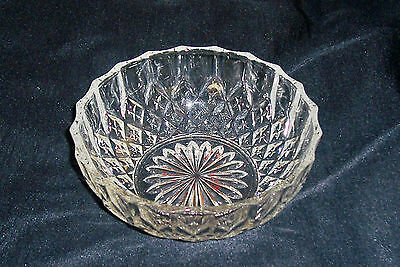 Stunning Cut Crystal Small Bowl- Excellent Condition
