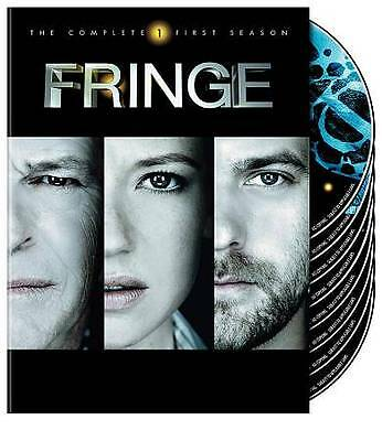Fringe - The Complete First Season (DVD 2009 7-Disc Set)New/Sealed Free Shipping