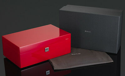 SIGLO VIBRANT SIREN RED 75 CIGAR HUMIDOR  THE BEST!