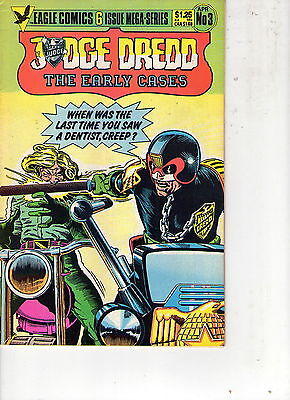 Judge Dredd : The Early Cases # 3 / Fine / John Wagner & Ian Gibson .