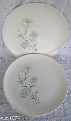 4 Vintage Taylor Smith & Taylor Ever Yours Boutonniere Dinner Plates Carnation