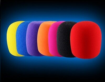 10 X  High Quality Foam Microphone Windscreens Extra Thick 15mm