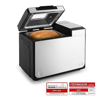 Brotbackautomat Country Life Brotbackmaschine Backautomat Brotbäcker Teigkneter