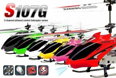 Syma S107G Infrared Remote Control Motion Sensor Helicopter Gyro Indoor 3Channel