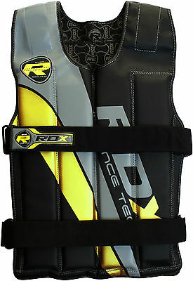 RDX Pro Removable Weighted Jacket 8,10,12,14 Kg Weight Vest Loss Gym Running Y