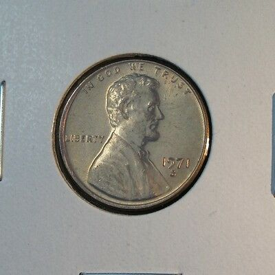 1971 D Lincoln Memorial Cent Uncirculated From Roll*Have More Cents