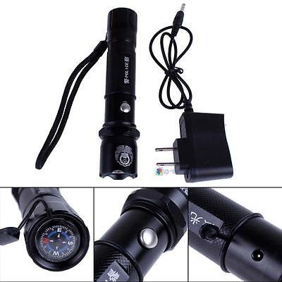 3800Mah 340LM 3w Police CREE Q3 LED Flashlight Set Torch 3 in 1 Camping Sport UP