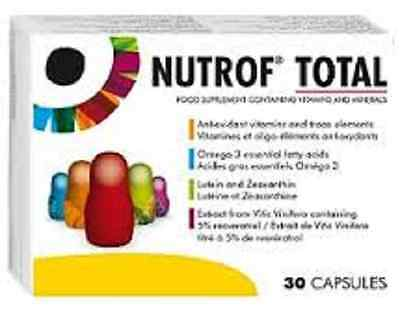 Nutrof Total Food Supplement for the Maintenance of Vision