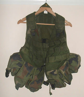 Irish Dpm Pattern Assault Vest - Genuine Issue