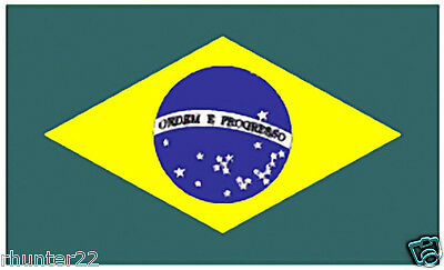 Huge 3' x 5' High Quality Brazil Flag - Free Shipping