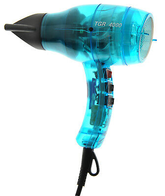 Velecta Paramount TGR 4000 Turquoise Transparent Professional Hairdryer +2000Wat