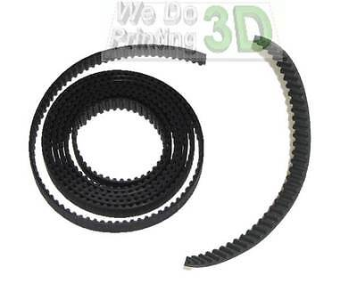 3D Printer GT2 Timing Belts and 5mm Shaft Pulleys, Ideal for Reprap Prusa Mendel