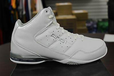 741cf10f28a And 1 Basketball Sneakers Master Mid White Silver D1060MWWS Brand New in Box