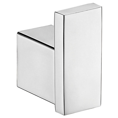 Square Robe Towel Hook Bathroom Accessories Stainless Steel Chrome 6401