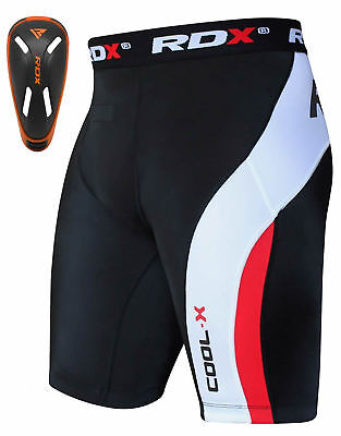 RDX Thermique Court Compression Fitness Cuissard Coquille Cuisse Cours Running F