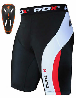 RDX Thermique Short De Compression Fitness Cuissard Coquille Cuisse Running FR