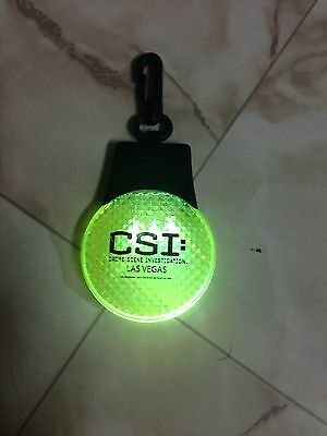 Watch Out CSI The Experience Crime Screen Special Safetylight For ( Cycling )