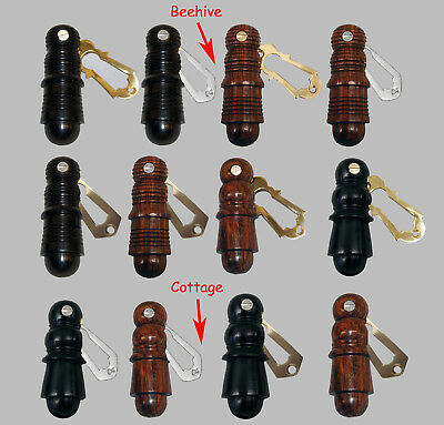 Wooden Beehive / Cottage Design Key Hole Cover Door Escutcheon (Pair)