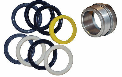 """Seal Kit & Packing Nut Set  1-1/2"""" Fits Western Unimount Angle & Lift Cylinder"""