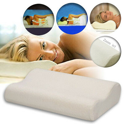 Contour Memory Pillow Head Back Orthopedic Soft Foam Comfortable Neck Support