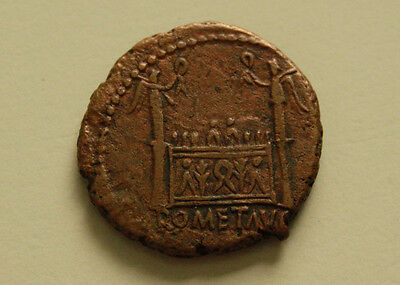 As. Struck 12-14 AD, Lugdunum.
