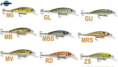 Leurre poisson nageur Tiny 38S GOLDY 38mm 1,8gr pêche truites chevesnes perches