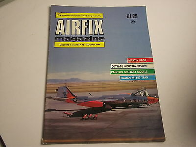 Airfix Magazine 1989 Aug - RB-57  Canberra