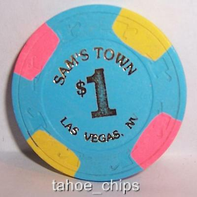 SAM'S TOWN CASINO CHIPS $1 CHIP LAS VEGAS NEVADA