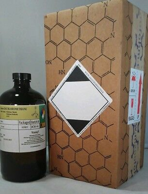 Methylene Chloride 99.95+% (32 oz) ~1000mL DCM, Dichloromethane, MSDS INCLUDED