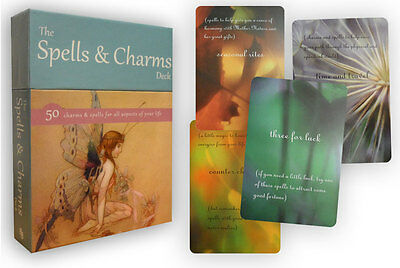 The Spells and Charms Deck Tarot Cards Deck Set Collection