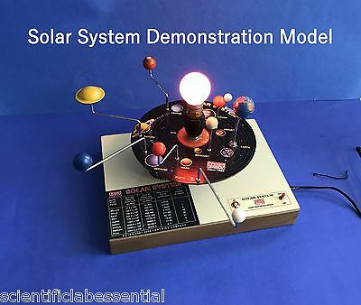 SOLAR SYSTEM  APPARATUS MOTORIZED - ASTRONOMY Geography Teaching AID