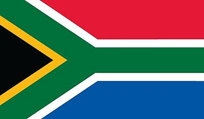 South African Flag  5Ft X 3Ft