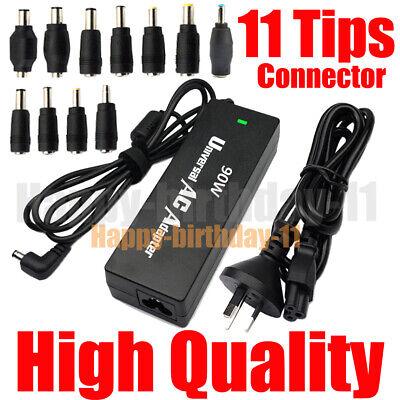 UNIVERSAL 90W 15V-24V 6A Max LAPTOP AC ADAPTER POWER SUPPLY CHARGER 11 CONNECTOR