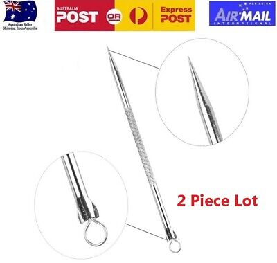 Stainless Steel Blackhead Remover Tool Acne Pimple Whitehead Blemish Beauty Tool