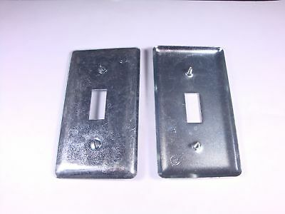2594 Appleton Electric Handy Box Cover 4 x 2-1/8 One Switch 865 58-C-30 100-TS