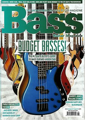 BASS GUITAR #98 December 2013 BUDGET BASSES Paolo Gregoletto DARRYL JONES @NEW@