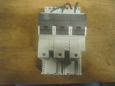 New Hoffman 3pole 30amp fuse holder  indicating HB31968  60 day warranty