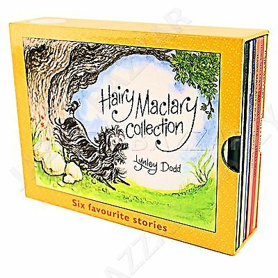 Hairy Maclary and Friends 6 Books Box Set Collection Kids Story Lynley Dodd