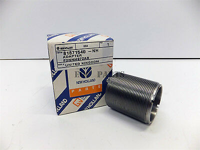 """New Holland """"10 & TS Series"""" Tractor Hydraulic Oil Filter Adapter - 81871540"""