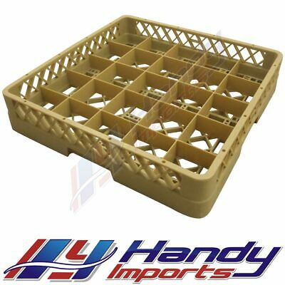 NEW COMMERICAL DISHWASHER PLATE AND TRAY RACK 25 COMPARTMENT 500 x 500