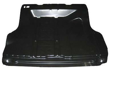 55-57 Chevy 2-Dr / 4-Dr Trunk Floor Pan W/o Braces - Smooth Style No Spare Tire