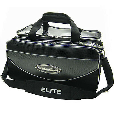 ELITE PLATINUM DELUXE DOUBLE TOTE BOWLING BAG