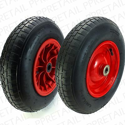 LARGE 400mm NEEDLE/BALL BEARING SPARE WHEEL~HOLDS 180Kg~ Wheelbarrow Replacement