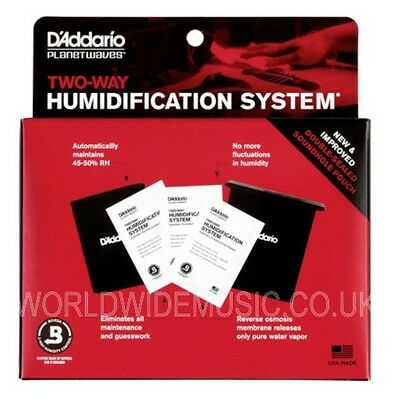 Planet Waves Humidipak - Two-Way Humidification System for guitar care PW-HPK-01