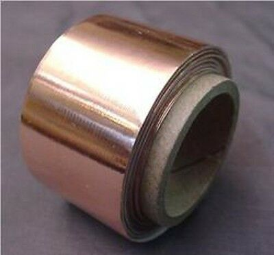 COPPER SHIELDING TAPE FOR ELECTRIC GUITAR 6 feet
